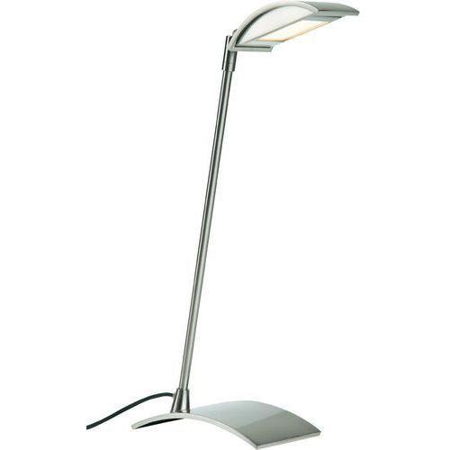 Paulmann Lampa biurkowa led bay 70243, 5.5 w, 227 lm, 3000 k, 230 v/50 hz, (sxwxg) 23 x 40.5 x 9.5 cm, żelazowy
