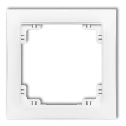 DECO Ramka uniwersalna pojedyncza z tworzywa DECO Soft złoty 29DRSO-1