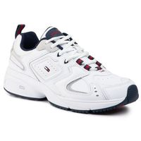 Sneakersy - heritage sneaker em0em00373 white ybs, Tommy jeans, 41-44