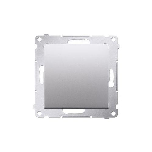 Przycisk pojedynczy Simon 54 DP1.01/43 zwierny bez piktogramu srebrny mat Kontakt-Simon (5902787823375)