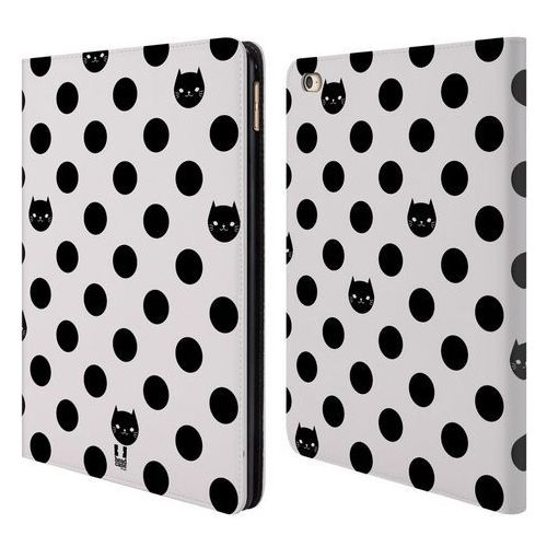 Etui portfel na tablet - Cats and Dots Black