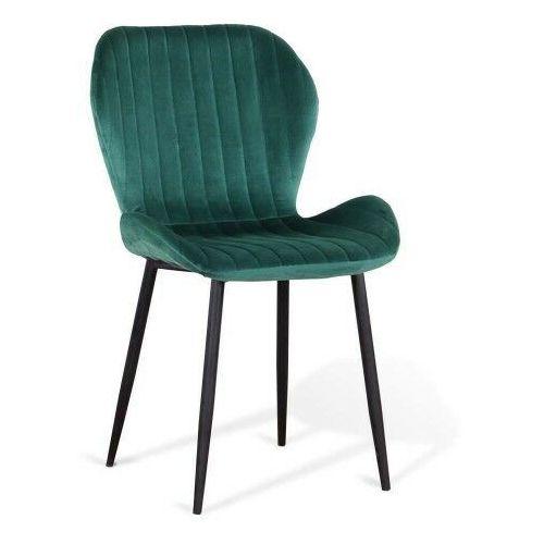 Emwomeble Krzesło tapicerowane ▪️ art223c ▪️ welur, zielone