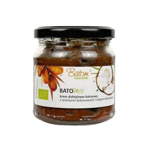 Batom (dżemy, soki, kompoty, czystek) Krem daktylowo - kakaowy z wiórkami kokosowymi bio 200 g - batom (5907709953567)