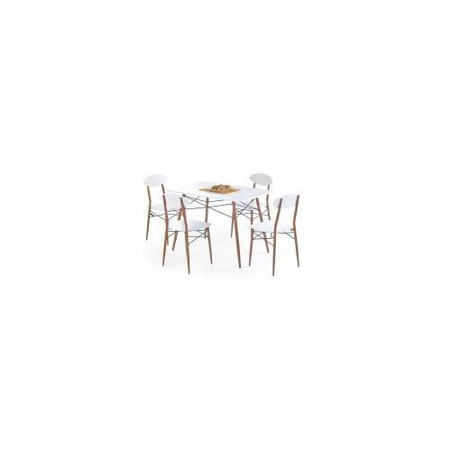 Zestaw RECORD prostokąt stół z 4 krzesłami
