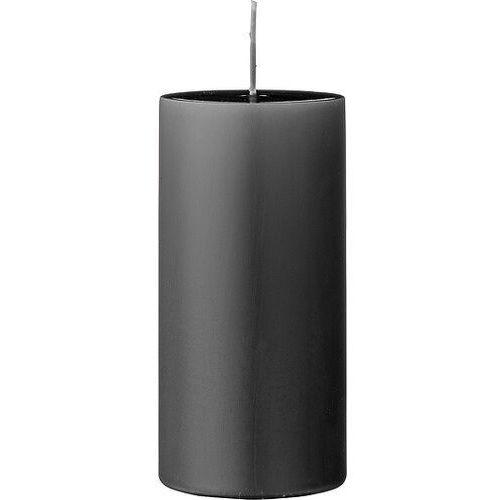 Bloomingville Świeca 15 cm ciemnoszara (5711173115518)