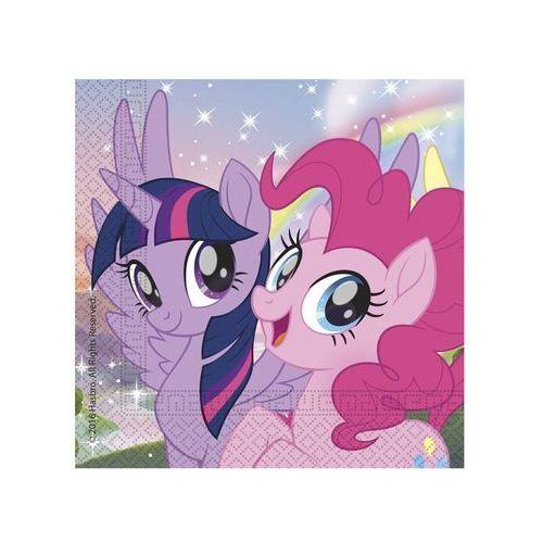 Serwetki urodzinowe My Little Pony Friends - 33 cm - 20 szt. (5201184886458)