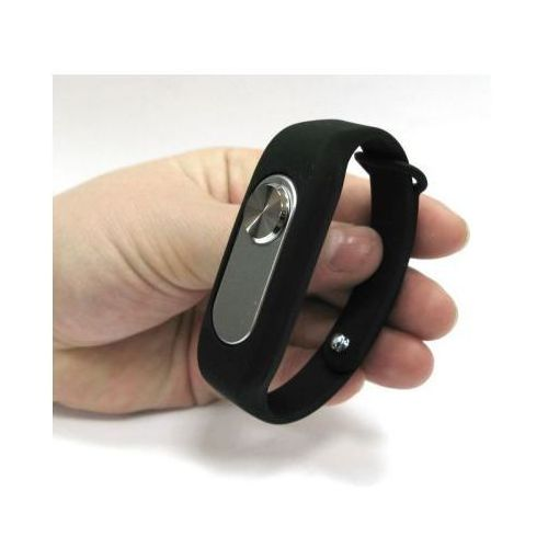 Spy elektronics ltd. Mikro-podsłuch nagrywający (4gb), ukryty w pasku na nadgarstek.