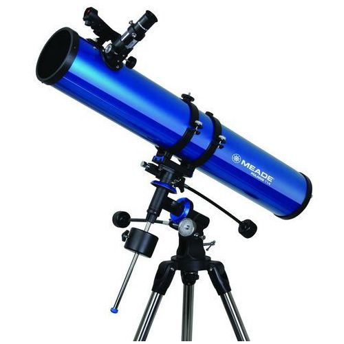 Teleskop zwierciadlany polaris 114 mm eq marki Meade