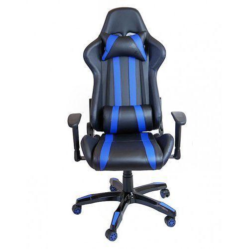 FOTEL Gamingowy obrotowy dla graczy Gamer DEUS XX, deus XX blue