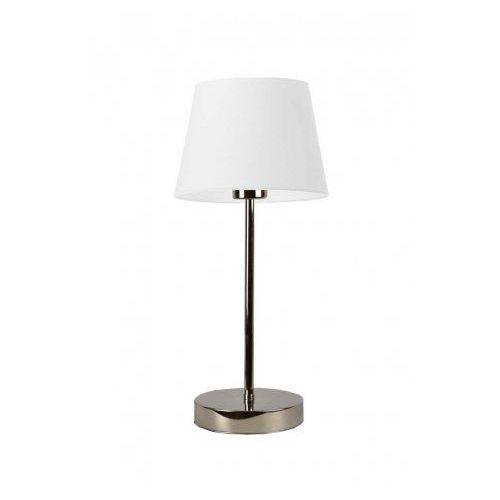 Lampka na stolik nocny SIENA czarny ze złotą folią, stal szczotkowana (+35 zł), 14526