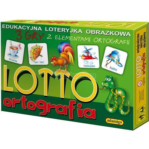 Lotto Ortografia - loteryjka, ADA4126
