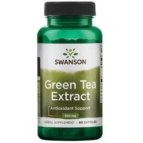 Swanson Green Tea Extract (zielona herbata) 500mg - (60 kap) (0087614140995)