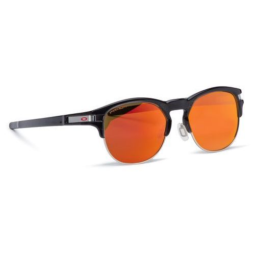 Okulary przeciwsłoneczne - latch key oo9394-0452 polished black ink/prizm ruby marki Oakley