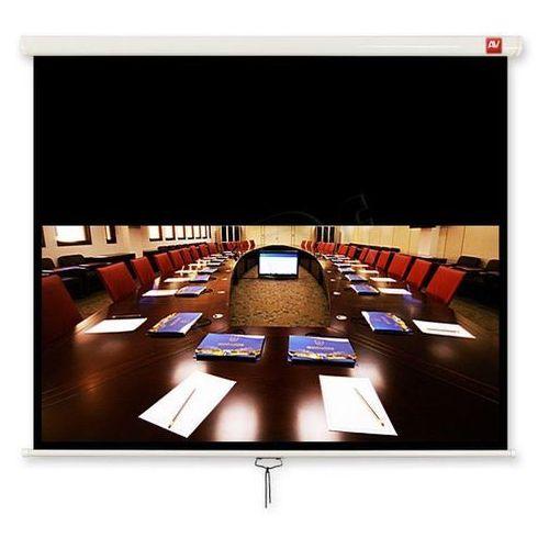 AVTek Ekran ścienny ręczny Cinema 200, 16:9, 200x200cm, powierzchnia biała, matowa, 396839