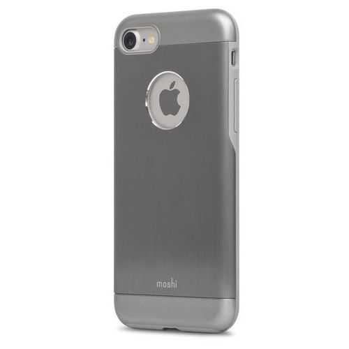 armour - etui aluminiowe iphone 7 (gunmetal gray) marki Moshi