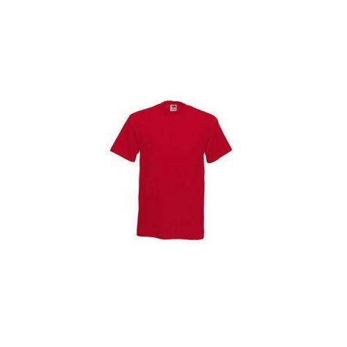 Fruit of the loom Heavy cotton tee męska koszulka czerwony t-shirt/ red