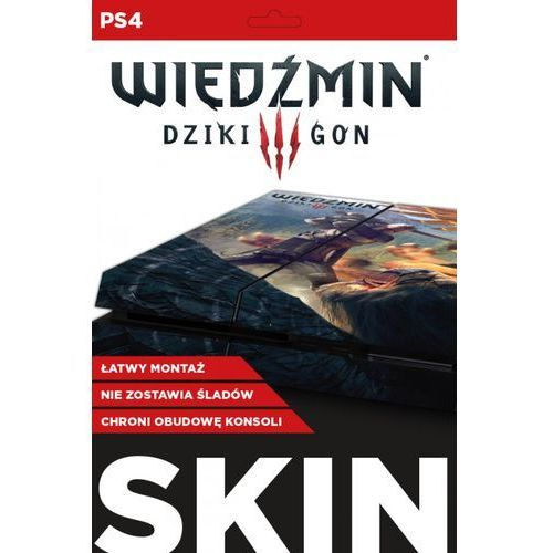 Cd_projekt Naklejka ps4 skin geralt gryf
