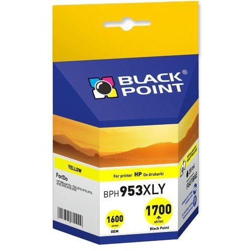 Tusz Black Point zamiennik do HP 953XL (F6U18AE) - Żółty (20 ml), BPH953XLY