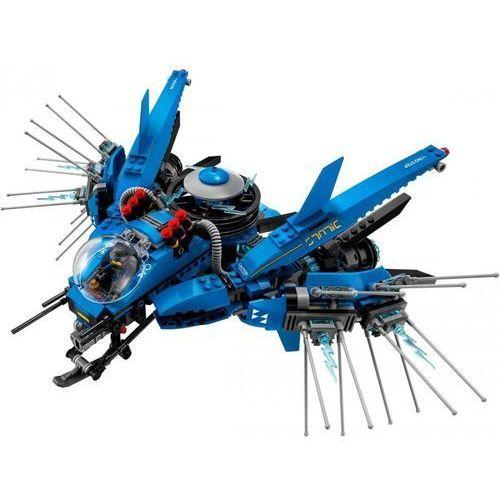 OKAZJA - 70614 ODRZUTOWIEC BŁYSKAWICA (Lightning Jet) KLOCKI LEGO NINJAGO