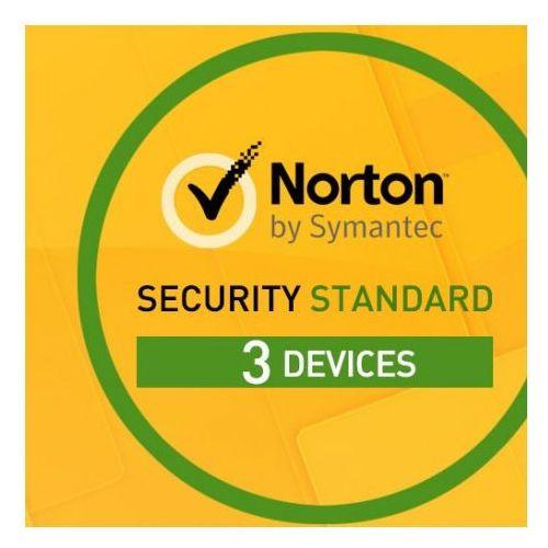 Norton security 2018 standard 1 użytkownik, 3 urządzenia odnowienie marki Symantec