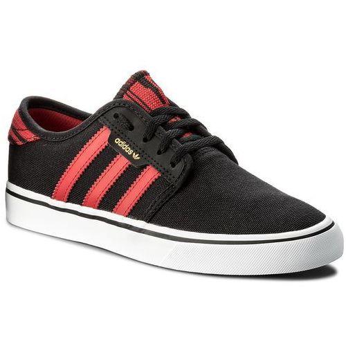 online store 5b3da aa8e3 Buty adidas - Seeley CQ1176 CblackScarleFtwwht