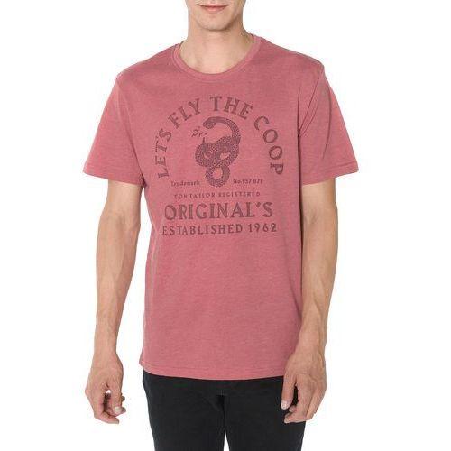 Tom Tailor Koszulka Różowy L, 1 rozmiar