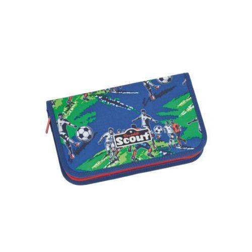 SCOUT Basic Piórnik z akcesoriami, 23 elementy - Drużyna piłkarska (4007953401225)