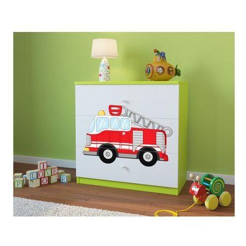 Komoda dziecięca babydreams straż pożarna kolory negocjuj cenę marki Kocot-meble