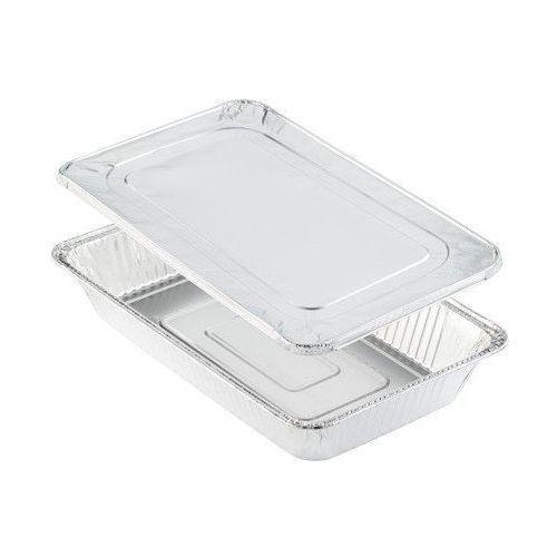 Pudełko z aluminiową przykrywką | 527x326x80 mm | 40szt.