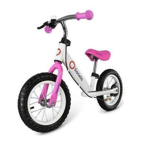 Rowerek biegowy DEX różowy