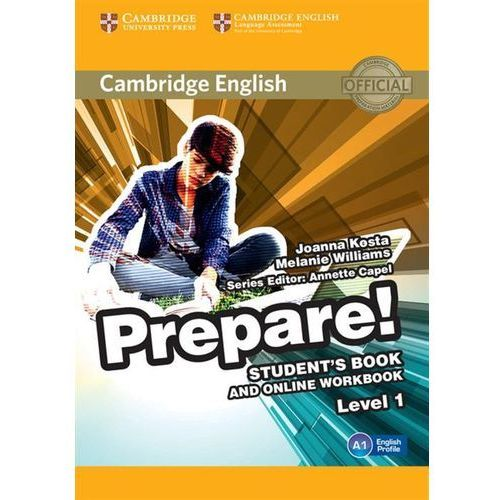 Cambridge English Prepare! 1 Student's Book - Wysyłka od 3,99 (2015)