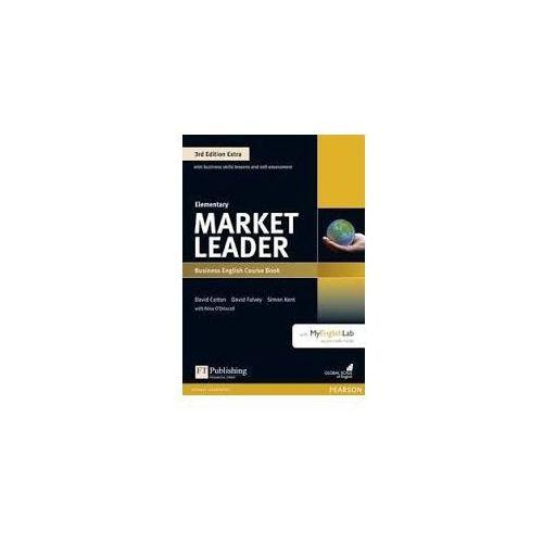 Market Leader 3Ed Extra Elementary. Podręcznik + DVD-ROM + MyEnglishLab