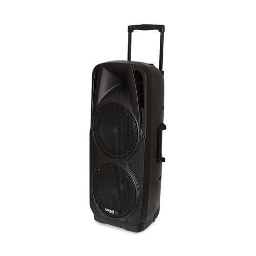 ibiza PORT225VHF-BT mobilny zestaw nagłośnieniowy PA Bluetooth USB SD AUX MP3 VHF