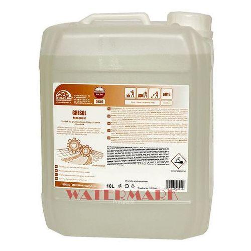 Mocny preparat do czyszczenia podłóg gresol 5l silny środek do mycia posadzek betonowych, przemysłowych marki Dolphin