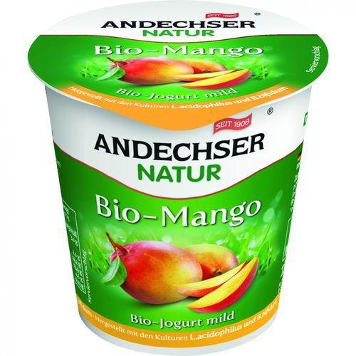 Jogurt z mango 3,7% bio 150 g natur marki Andechser