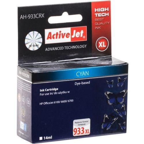 Activejet tusz AH-933CRX / CN054AE nr 933XL (cyan) Darmowy odbiór w 20 miastach! (5901443015499)
