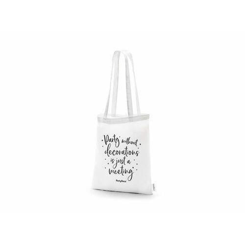 Mocna torba na zakupy biała - 1 szt. (5900779124790)