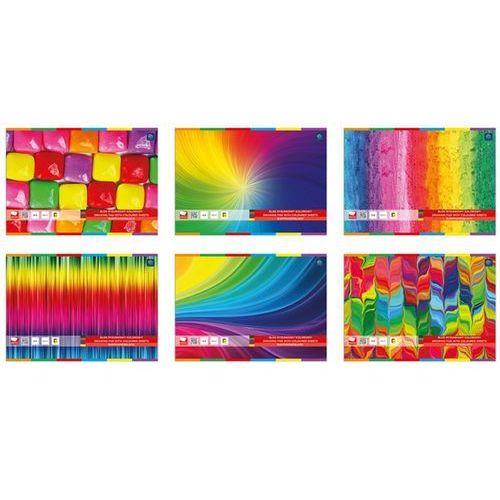 Blok rysunkowy A4 kolorowy + zakładka do książki GRATIS (5902277060020)