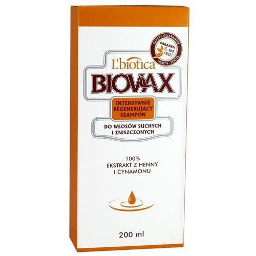 L`biotica Biovax szampon do włosów suchych i zniszczonych 200ml