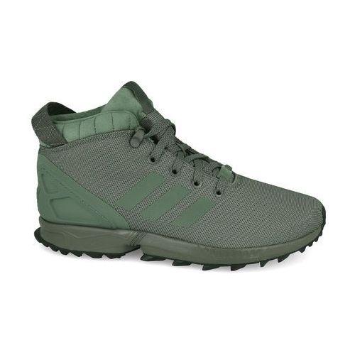 Buty originals zx flux 5/8 by9434 - zielony, Adidas