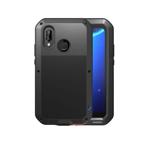 Etui Pancerne Love Mei Huawei P20 Lite, kolor czarny