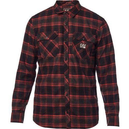 koszula FOX - Traildust Flannel Crdnl (465) rozmiar: L
