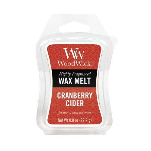 - wosk zapachowy cranberry cider 10h marki Woodwick