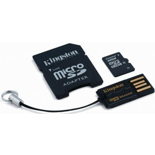 Kingston microSDHC 32GB klasa 10+ czytnik kart