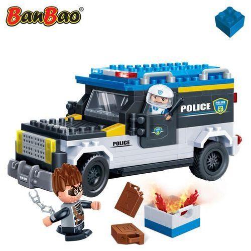 BanBao Klocki Policja Transport złoczyńcy 242 elem. 7005 Darmowa wysyłka i zwroty
