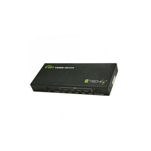 Techly Techly HDMI 5/1, 4K,2K,3D - 020713 Darmowy odbiór w 21 miastach!, 020713