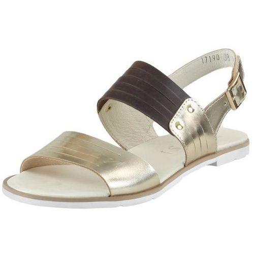Sandały Nessi 17190 Srebrne 11 Czarne 11 - złote 11+ brązowe 11