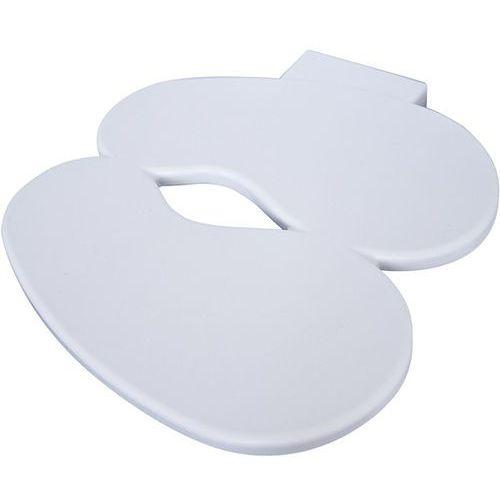 Półka na buty dziecięce  footprint biała marki J-me