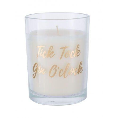 Candlelight Tick Tock Gin O´clock Gold świeczka zapachowa 220 g unisex (5010795589005)