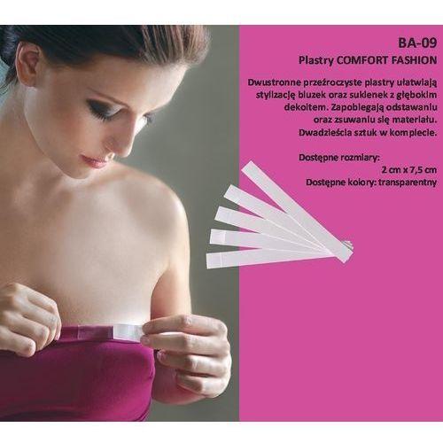 Plastry Julimex Comfort Fashion BA-09 20mm A'20 20mm, transparentny. Julimex, 20mm, 5906713256565